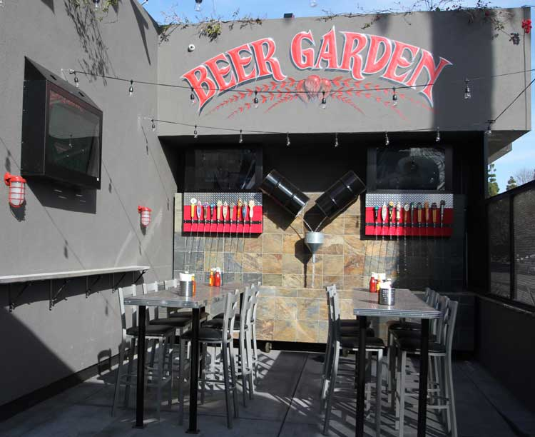 the-garage-beer-garden-video